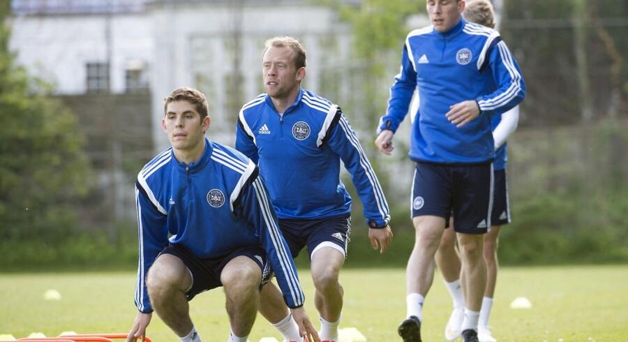 Pierre Emile-Højbjerg skal tale med Bayern München om fremtiden fredag aften.