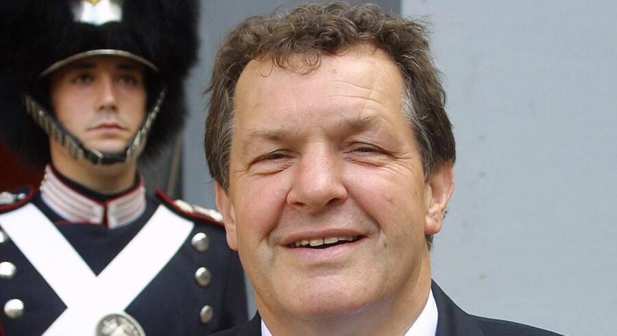 Siegfried Matlok ved en audiens i 2003. Foto: Scanpix
