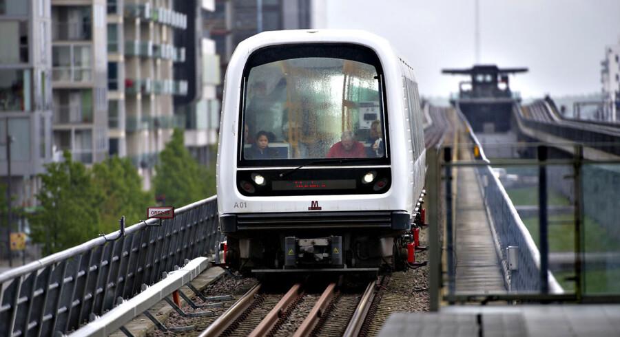 Metro tog