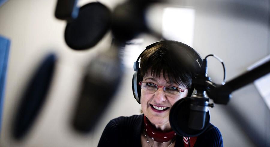 Margaret Lindhardt, vært på giro 413 gennem 17 år - slutter på programmet den 31. december 2011.