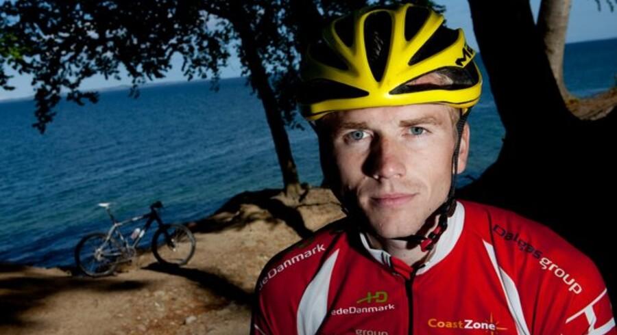28-årige Søren Strunge, er lige nu regerende verdensmester i mountainbike-orientering og som i de seneste 10 år har dyrket ekstremsporten adventureracing.Foto: Poul Madsen