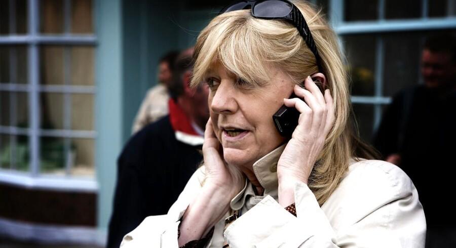Korrespondent for TV 2, Ulla Terkelsen.