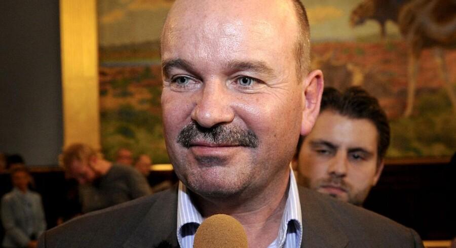 Kommunalvalget 2009 på Fyn. Her ses Jan Boye (K).