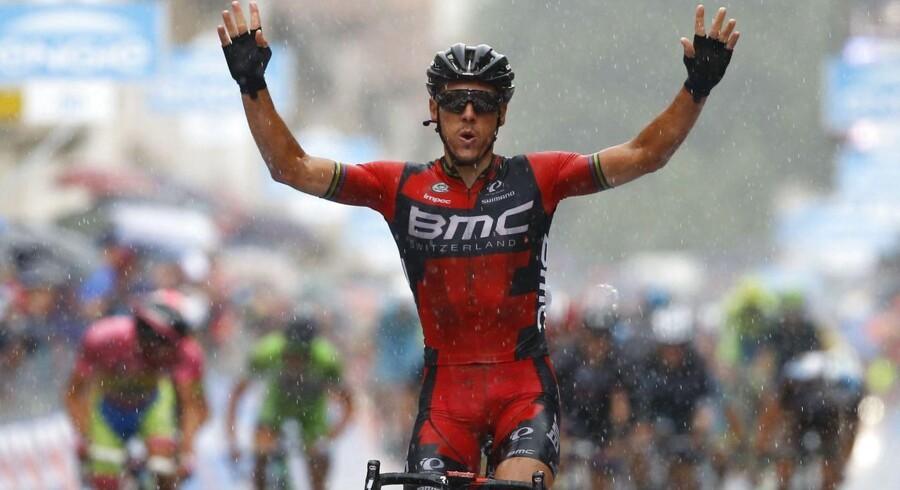 Philippe Gilbert vandt 12. etape i Giroen.