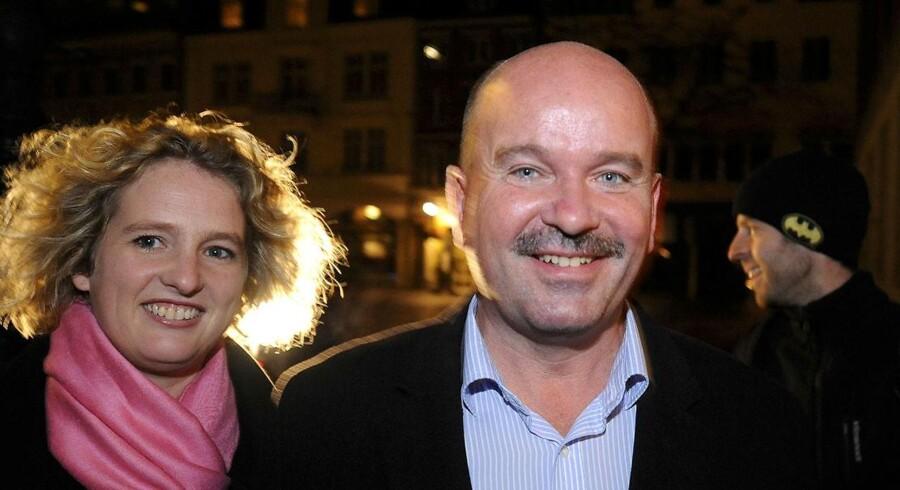 ARKIVFOTO. Jan Boye og konen Dorte Hjertstedt Boye.