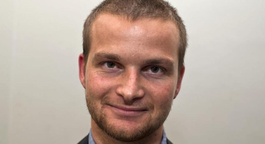 Ny Skatteminister i S-R-SF-regeringen: Thor Möger Pedersen, næstformand i SF.