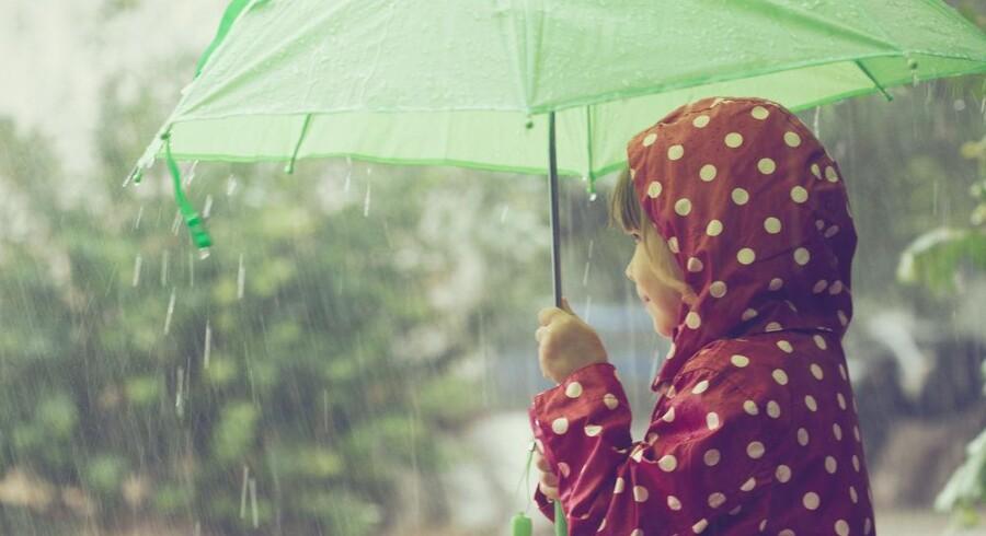 Der findes hormonforstyrrende stoffer i både regntøj og madpakkepapir. Foto: Iris