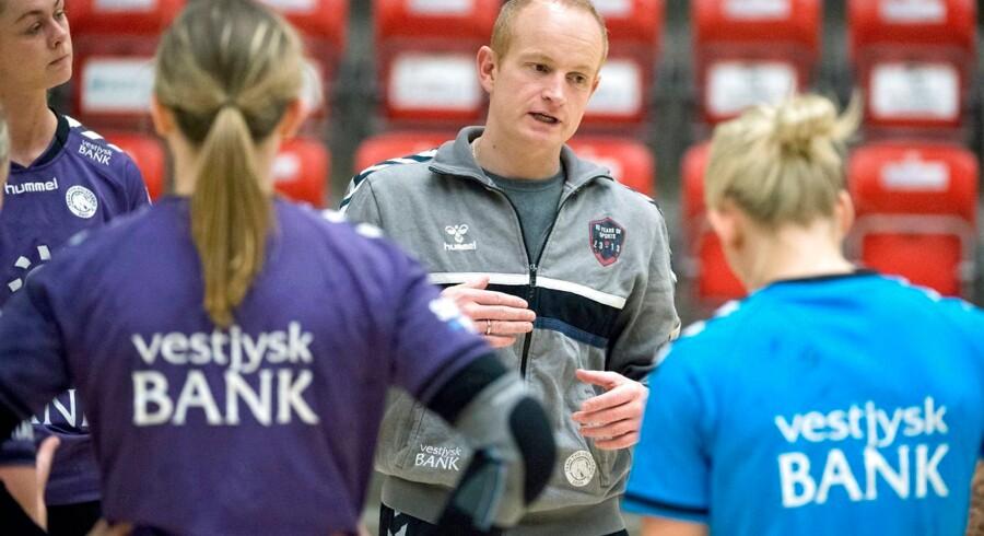Niels Agesen, cheftræner for Team Tvis Holstebro.
