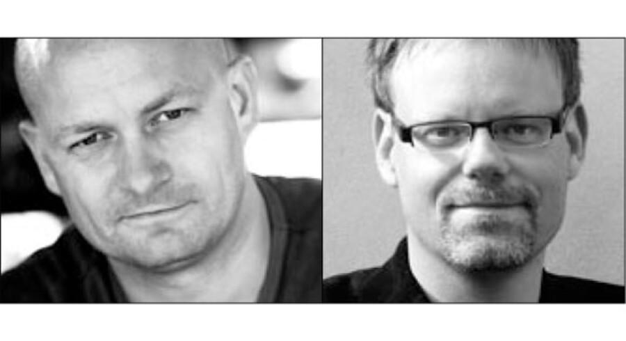 Per Krogh Hansen, formand, og Poul Thunbo, generalsekretær, DAMUSA – Danske Musikskolers Sammenslutning