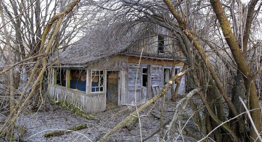 Flere tusinde beboere måtteflygte fra hus og hjem, da atomskyen kom.
