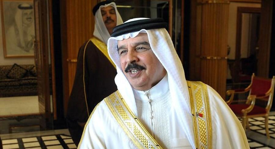 Kong Hamad bin Isa al-Khalifa af Bahrain.