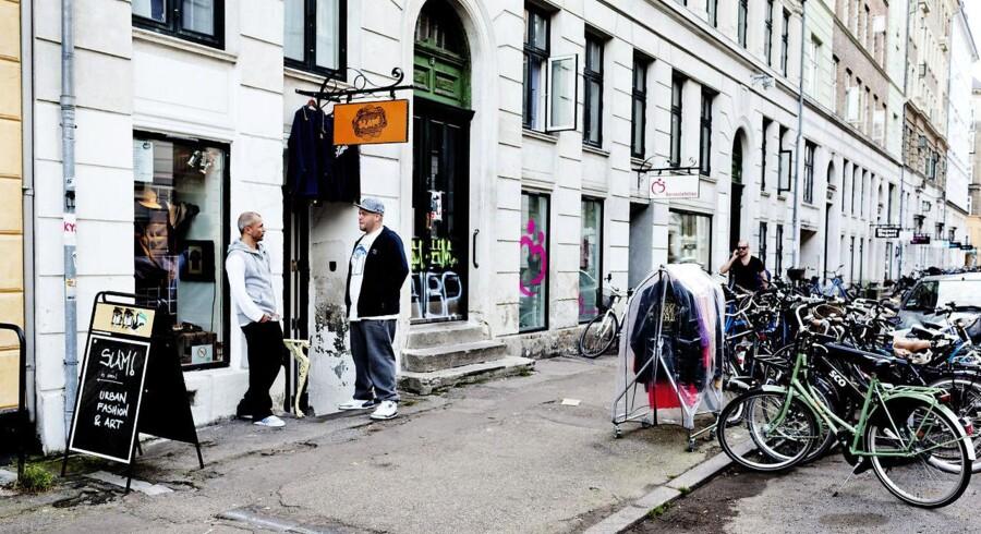 Jægersborggade er et sammensurium af alt lige fra en grødbar til en retrocomputerspil-butik. Men hash kan man ikke længere købe i gaden.