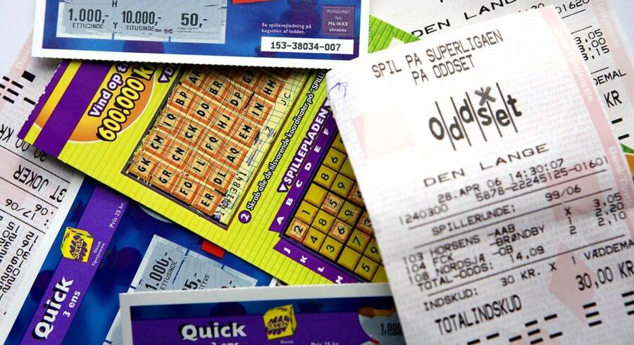 Med al sandsynlighed har Danske Spil med skrabelodderne, Oddset, Lotto osv. kun en stakket monopol i Danmark.