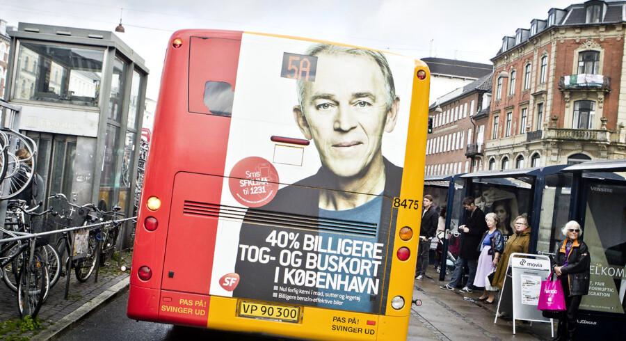 SF har i dag en busannonce der lover 40 % billigere bus- og togbilletter. Til BM