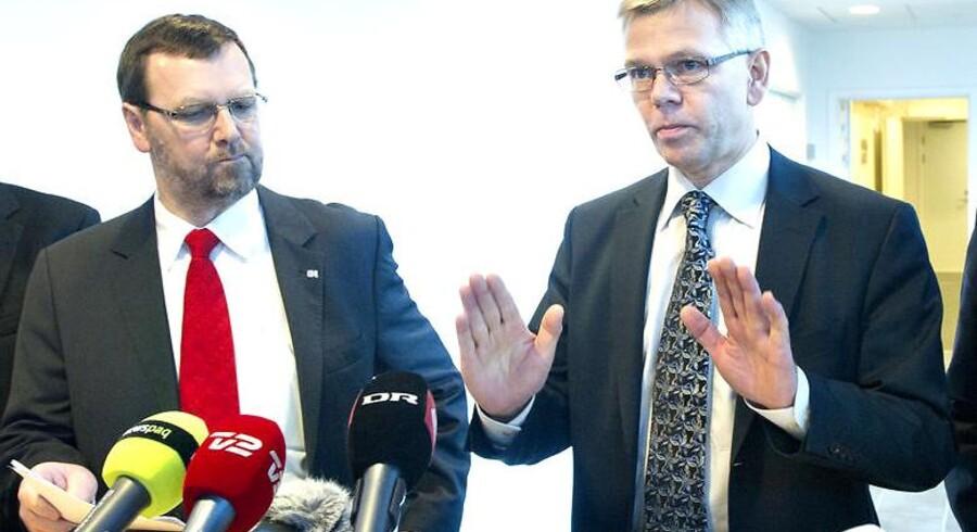 CO-Industris formand Thorkild E. Jensen, adm. direktør i DI Karsten Dybvad er atter ved forhandlingsbordet.