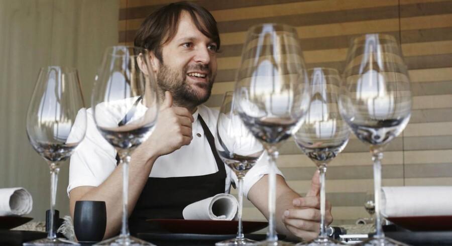 Nomas chefkok, René Redzepi, er blandt kokkene, der skifter køkken og liv med hinanden.