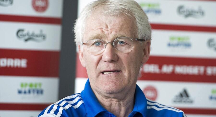 Morten Olsen er ikke voldsomt imponeret over den snart færdigspillede sæson i Superligaen.