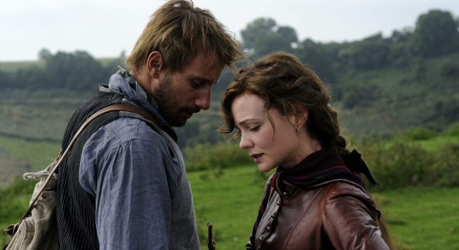 Matthias Schoenaerts og Carey Mulligan spiller de to hovedroller i Thomas Vinterbergs »Far From the Madding Crowd«. PR-foto