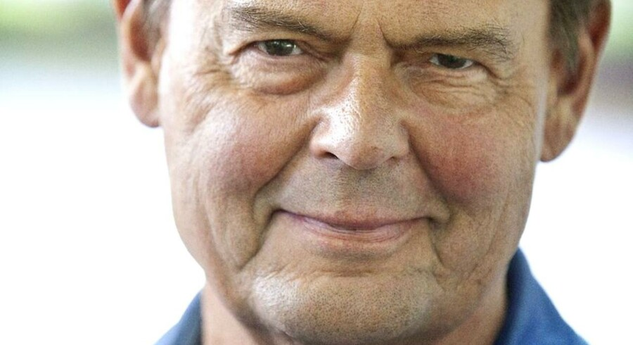 Ulf Pilgaard blev hædret for hele sin indsats i dansk teater og film, da han onsdag eftermiddag modtog Lauritzen-prisen. Foto: Martin Sylvest Andersen.