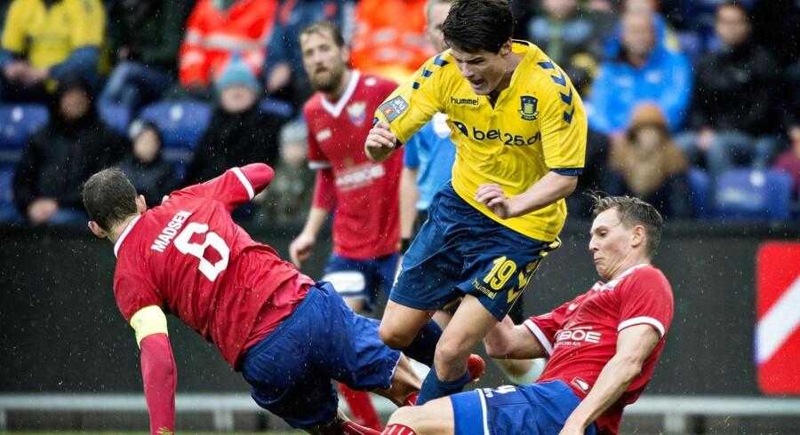 Superliga: Brøndby-FC Vestsjælland Målscorer til 4-0 debutanten Nikolai Laursen