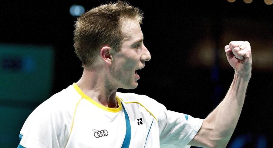 ARKIVFOTO: Peter Gade skal de næste fem år træne Frankrigs bedste badmintonspillere.