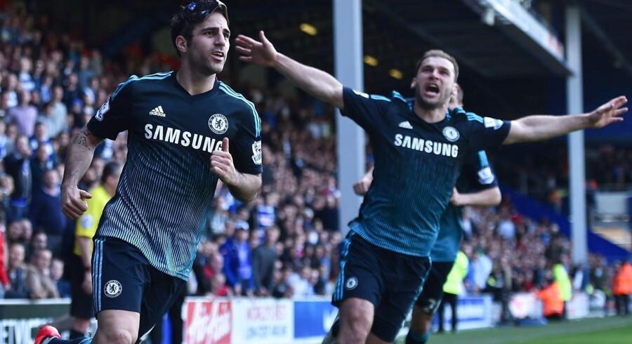 Cesc Fabregas scorede sejrsmålet mod QPR.