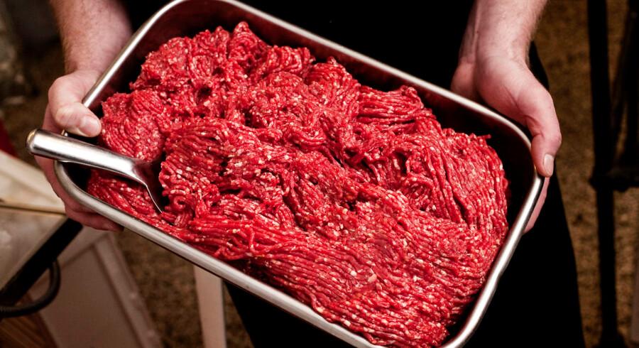 Hakket oksekød. Foto: Kristoffer Juel Poulsen