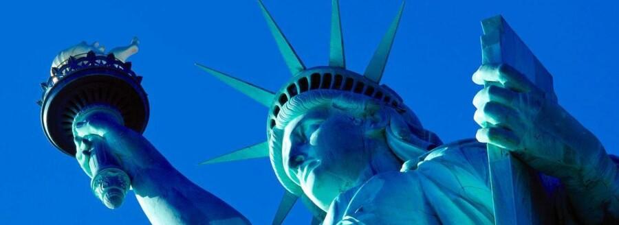 Statue of Liberty i New York - Frihedsgudinden - er fredag evakueret.