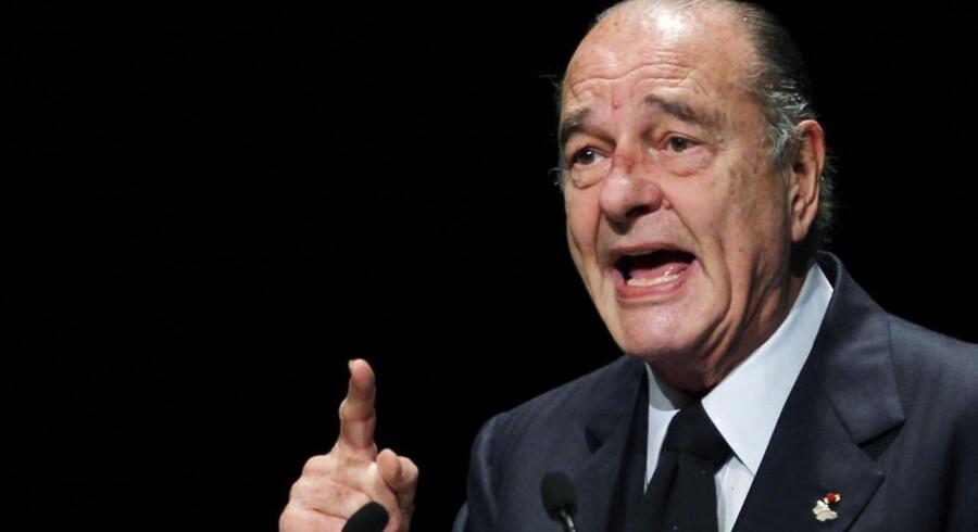 Tidligere præsident Jacques Chirac