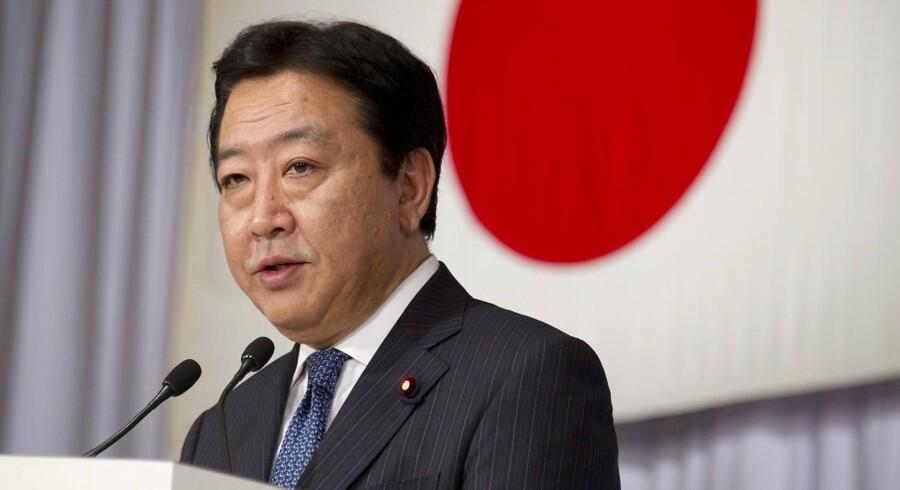 Den tidligere finansminister Yoshihiko Noda er blevet formand for partiet og forventes at blive Japans nye premierminister.