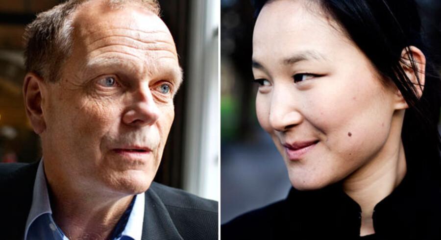 Mogens Lønborg (K) og Anna Mee Allerslev (R) er et nyt, politisk makkerpar i København.
