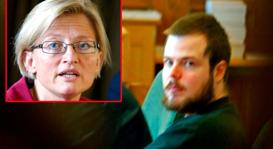 Mijailo Mijailovic myrdede for otte år siden den svenske udenrigsminister Anna Lindh (indsat foto), nu taler han ud om, hvorfor han gjorde det.