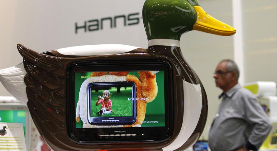 Nogle satser på 3D. Andre på Smart TV. Men her har nogen fundet en niche, de med garanti er alene om.