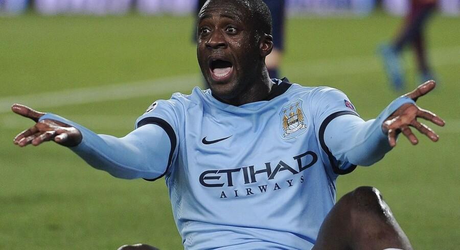 Yaya Toure har langt fra spillet op til niveauet i sidste sæson for Manchester City.