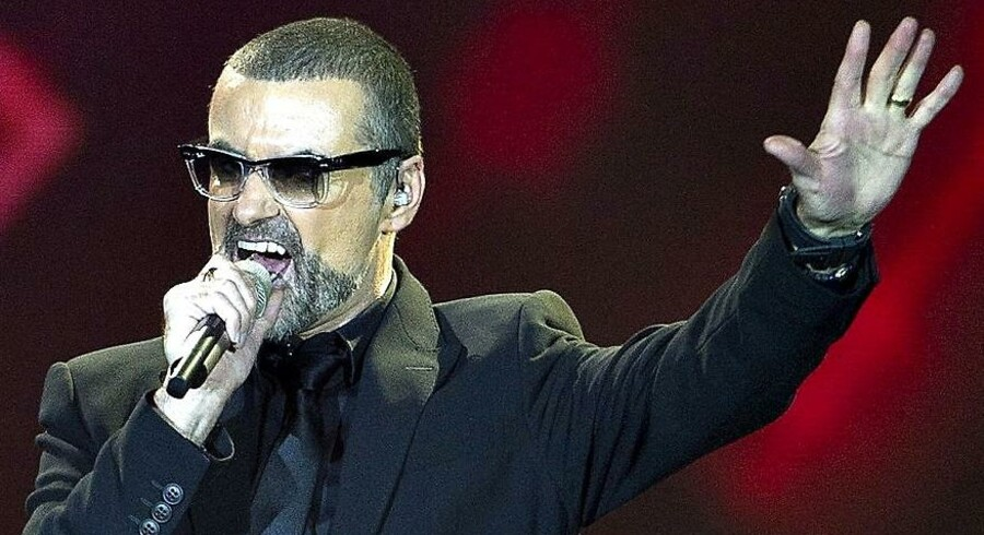 George Michael optrådte i Herning 29. august 2011.