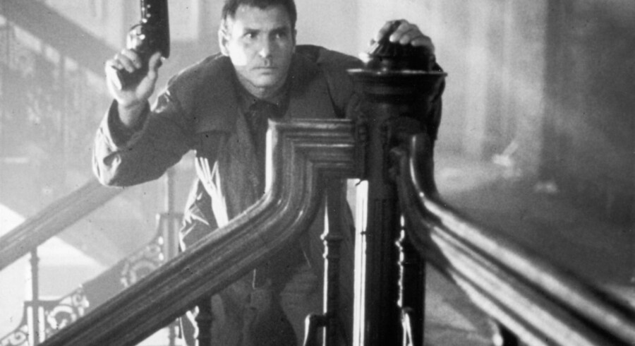 Harrison Ford i den oprindelige version af Ridley Scotts film.