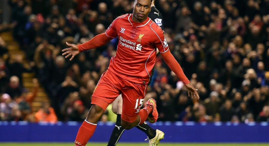 Liverpool må undvære Sturridge i en måneds tid.
