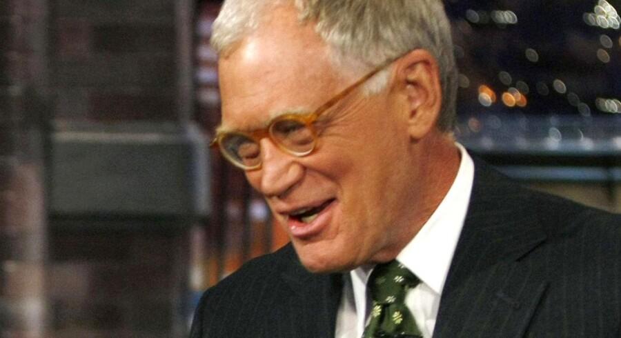 David Letterman er truet på livet.