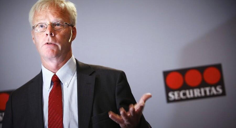 Securitas' topchef Alf Göransson.