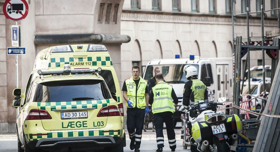 I september 2014 blev advokat Anders Lindholt dræbt af en 67-årig mand i fogedretten i København. Arkivfoto: Simon Skipper