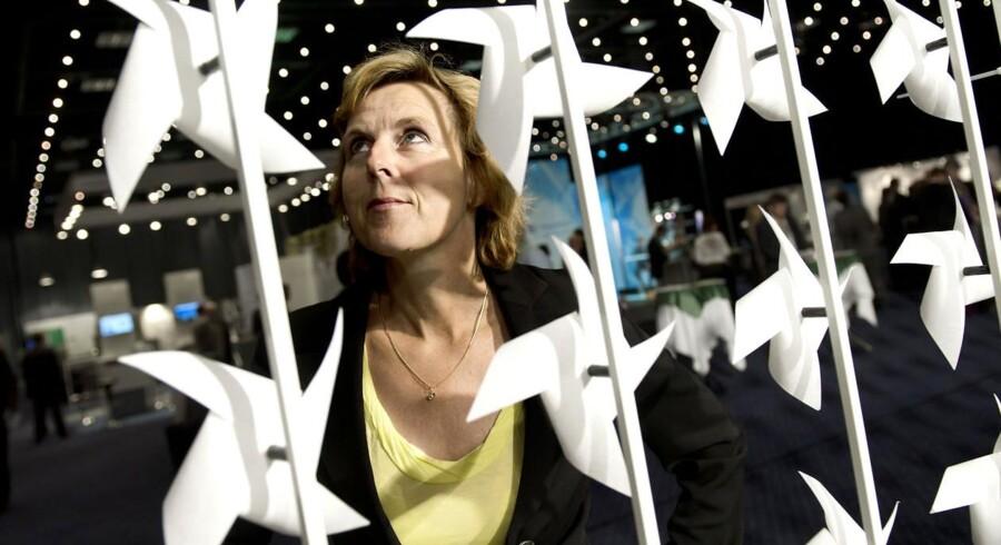 EU's klimakommissær Connie Hedegaard vil lukke pengekassen i for statsstøtte til vindmøller.
