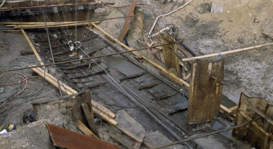 Omkring en fjerdedel af »Roskilde 6« er bevaret. Skibet blev udgravet i 1997.