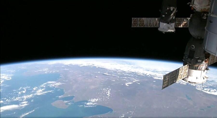Jorden set fra ISS. Arkivfoto.