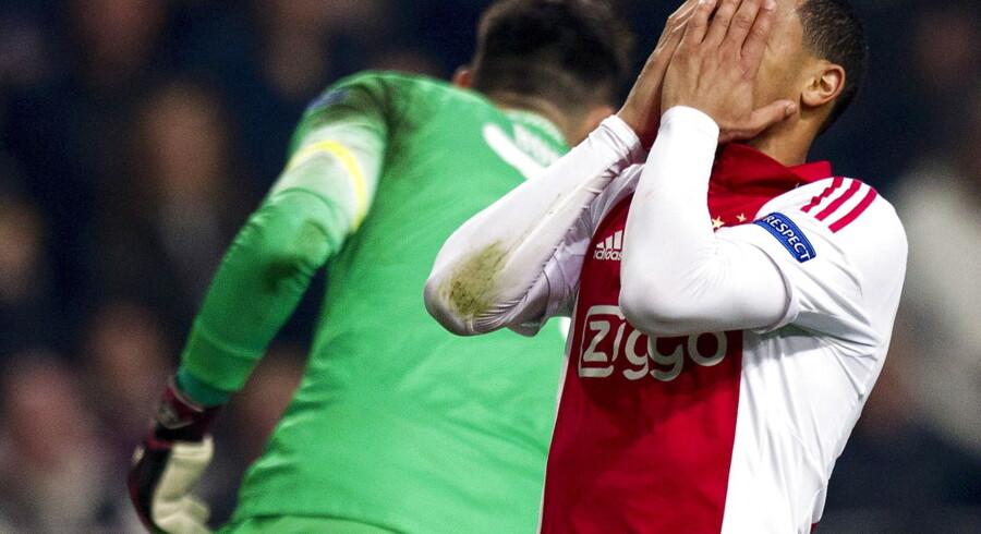 Ajax er færdige i Europa League efter 2-1 hjemme over Dnipro Dnipropetrovsk.