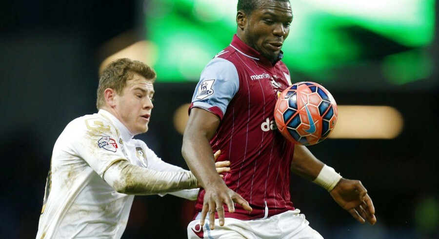 Jores Okore og Aston Villa vandt 2-1 over West Bromwich.