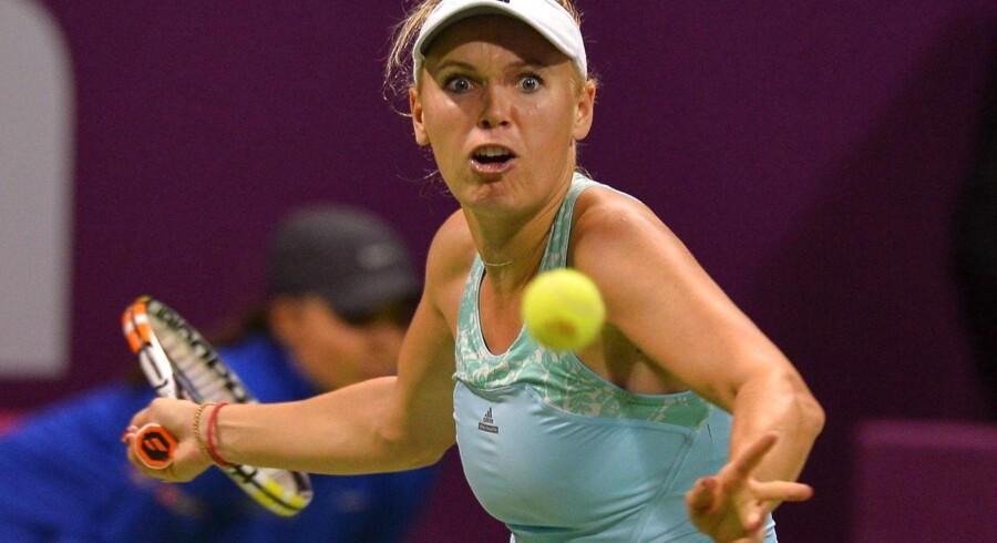Caroline Wozniacki er klar til semifinalen ved »BMW Malaysia Open«.