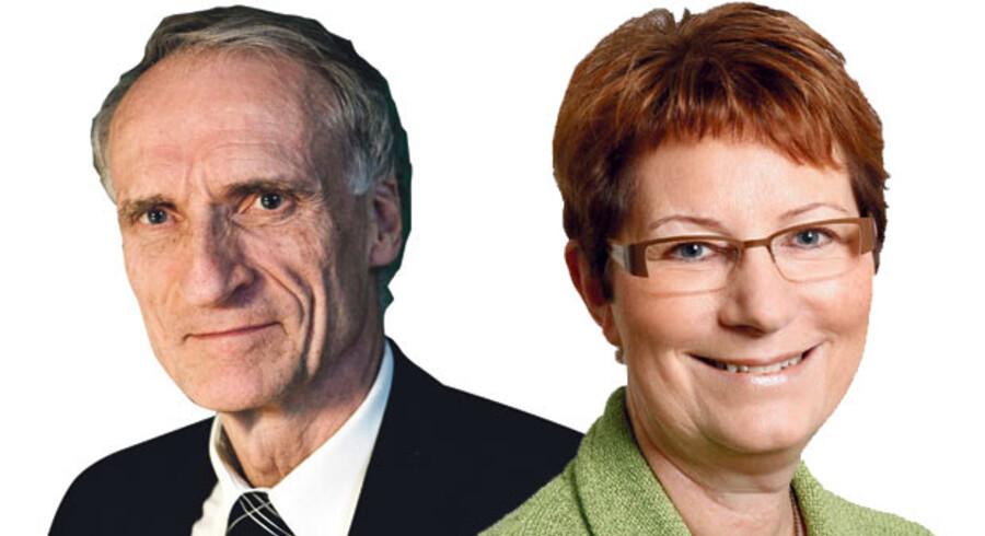 Bertel Haarder, indenrigs- og sundhedsminister (V), og Birgitte Josefsen, sundhedsordfører (V)