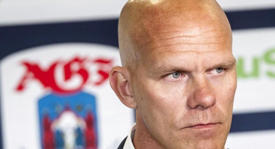 Jens Andersson forklarer, at samarbejdet med Erik Larsen ikke fungerede optimalt.