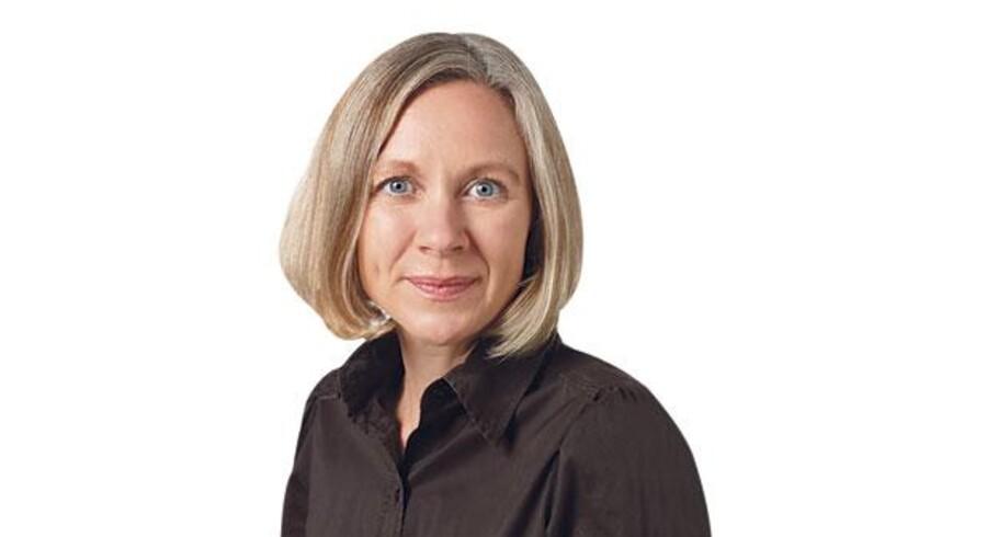 Annette Franck, Mor til to børn i den danske folkeskole