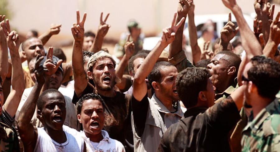 Libyske oprørere